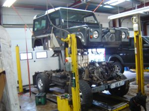 Competitive Servicing for Land Rovers