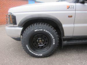 Disco 2 Black Modular Wheels