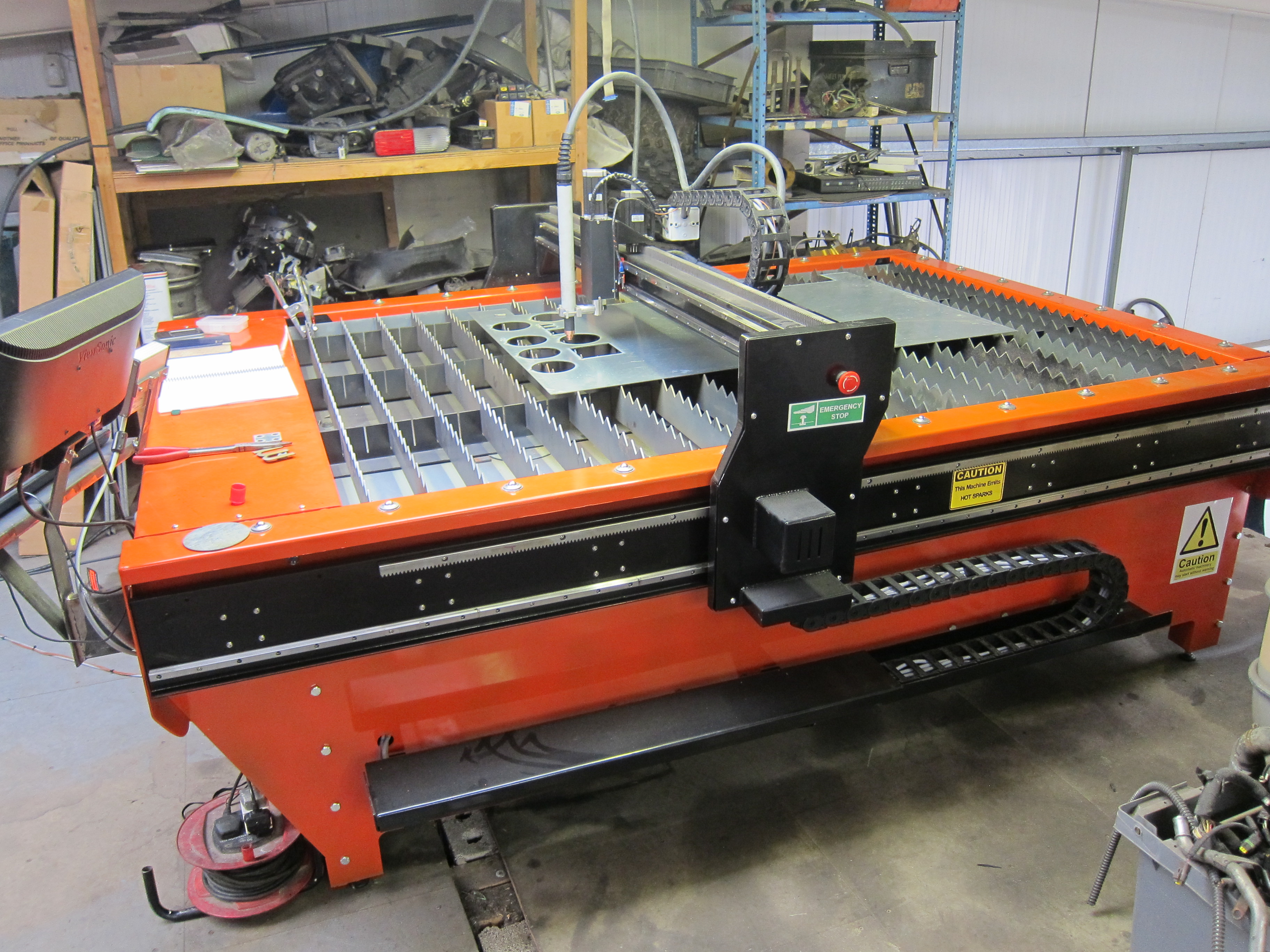 products premier floating cnc plasma w top head flat table