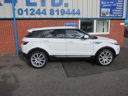 RANGEROVER EVOQUE FOR SALE CHESTER NORTH WALES