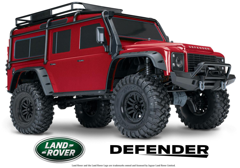 Traxxas Trx 4 Defender Rock Crawler Radio Controlled Car