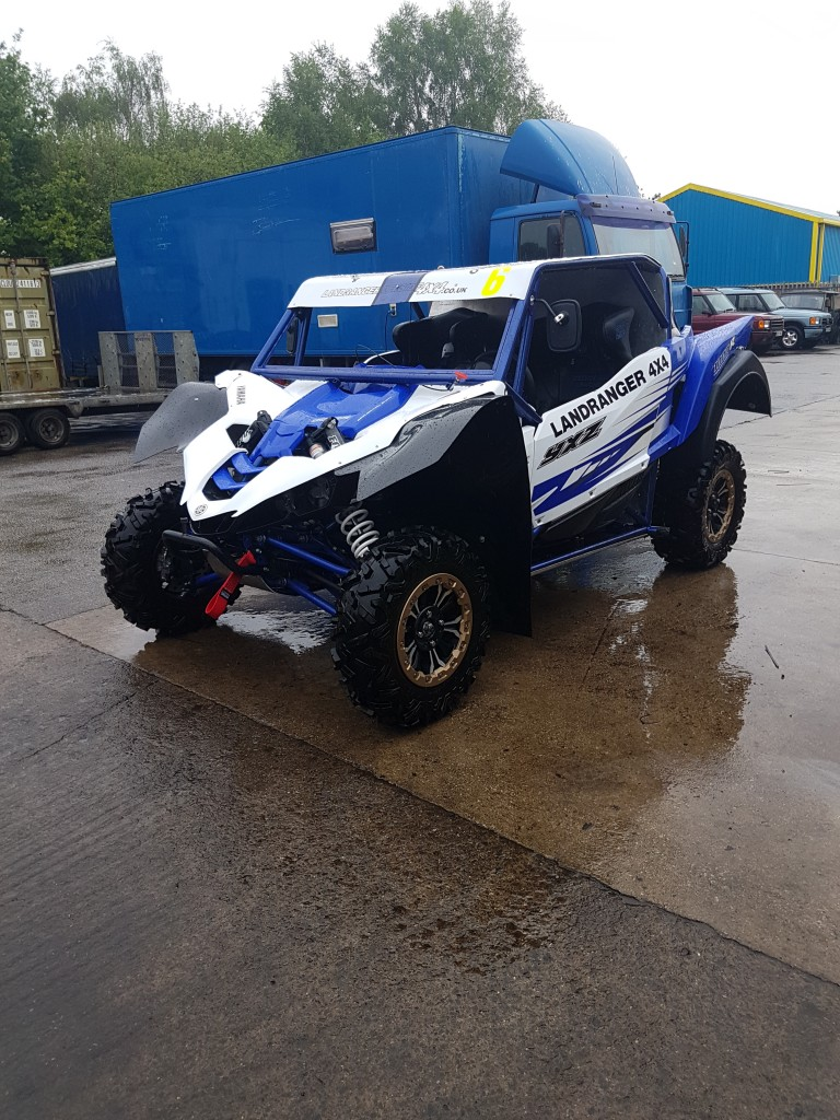 YAMAHA YXZ1000R TURBO BRITISH SXS RACING CHAMPIONSHIP