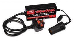 TRAXXAS AC To DC Power Supply 40W, UK PLUG TRX2976T
