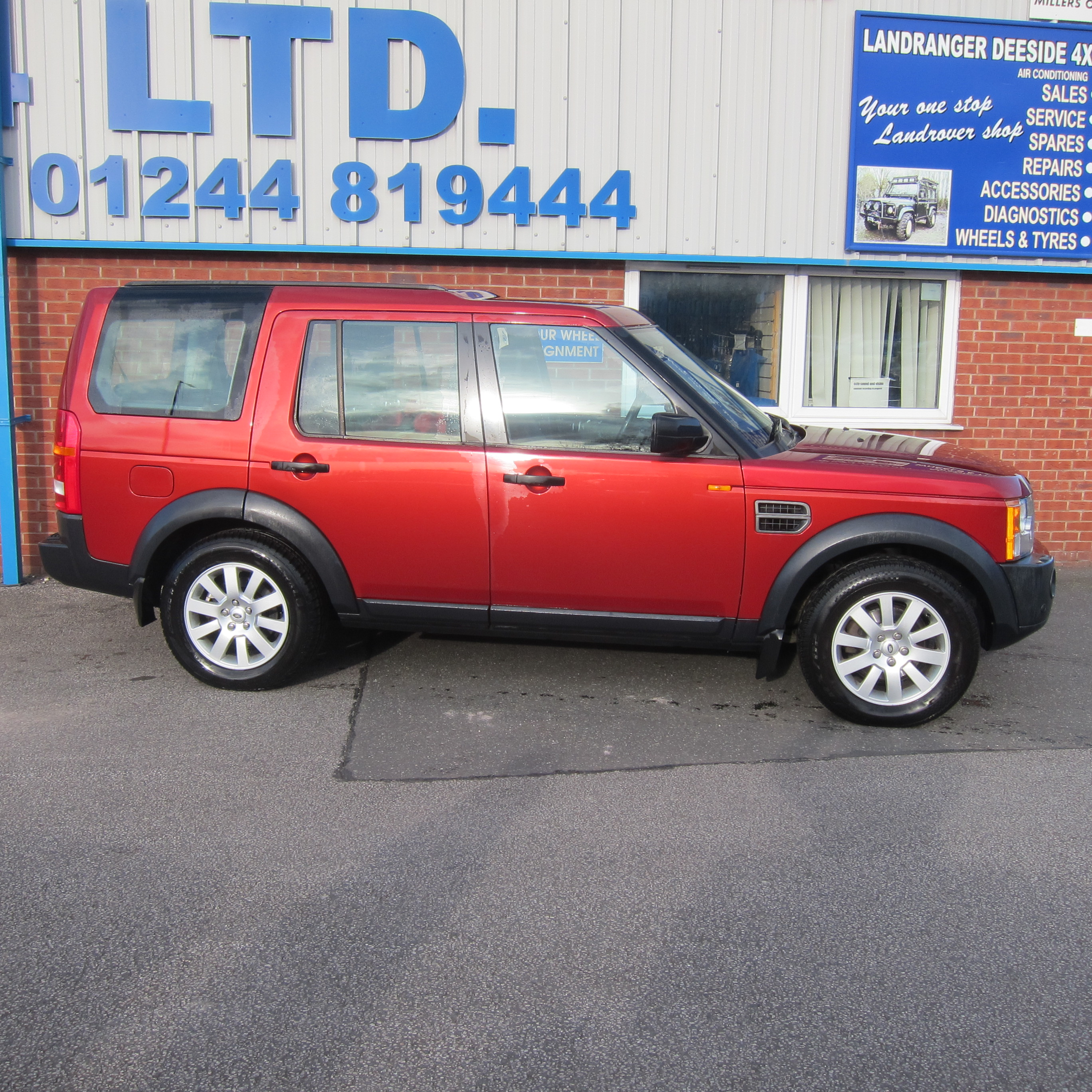 LAND ROVER DISCOVERY 3 2.7 TDV6 SE MANUAL 7 SEATER